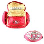 San Francisco 49ers Football Backpack